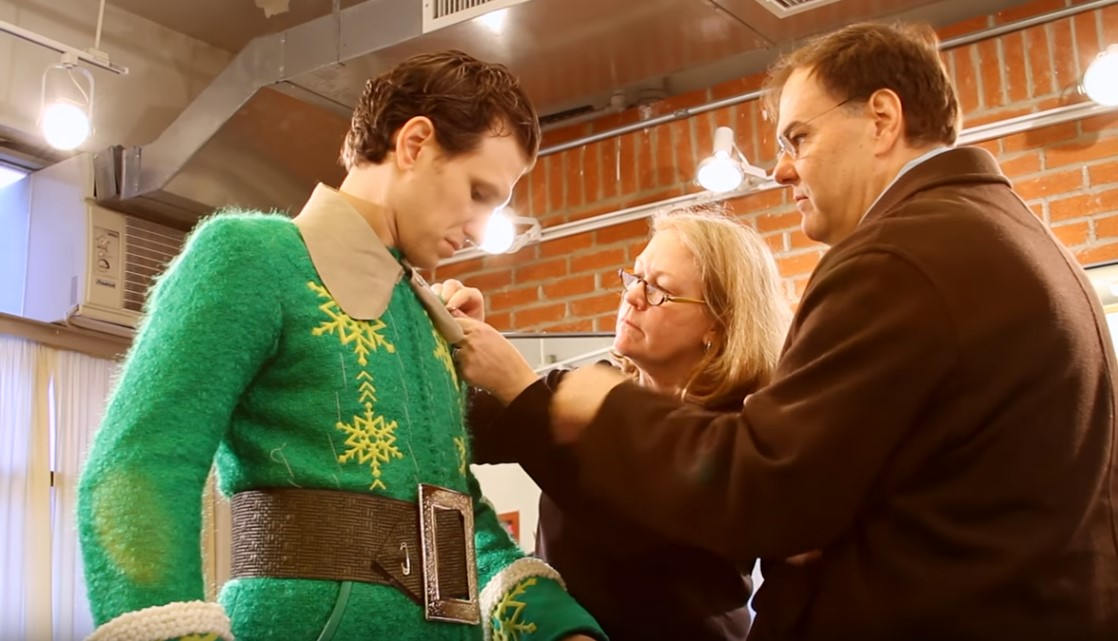 Costumer Designer Gregg Barnes for Elf the Musical