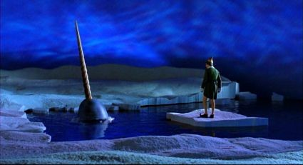 Narwhal Scene from Elf the movie