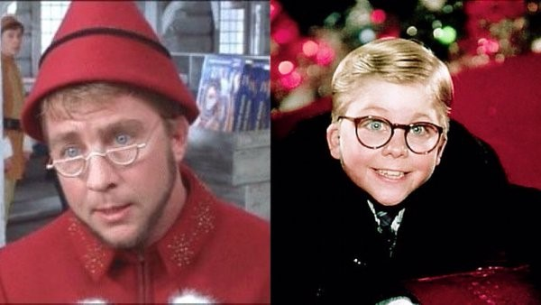 Peter Billingsley in Elf and A Christmas Story