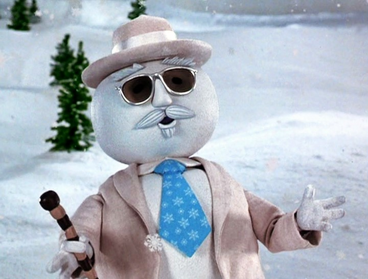 Snowman from Elf the movie