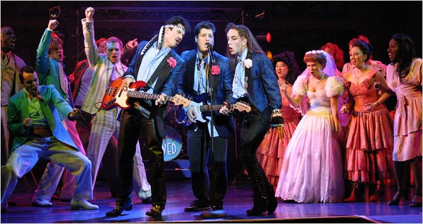 The Wedding Singer Production Photo
