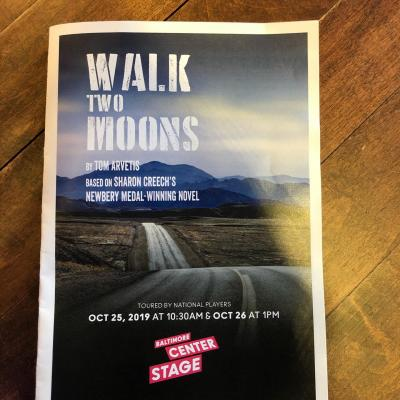 Walk Two Moons at Baltimore Center Stage