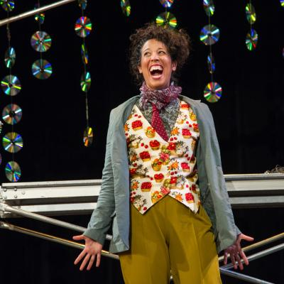 Lisa Danielle Buch as Rosalind in AS YOU LIKE IT. (Photo: C. Stanley Photography)