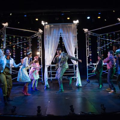 The cast of National Players' AS YOU LIKE IT. (Photo: C. Stanley Photography)