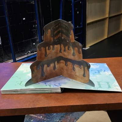 Final Prop Shot of Bruce's Cake