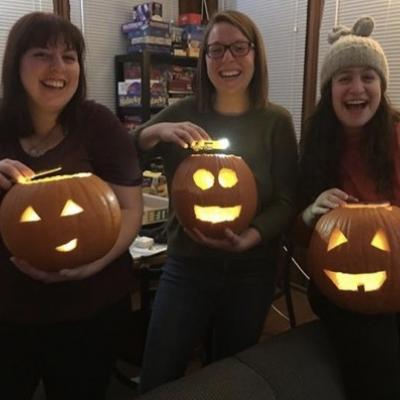 PC: Eleanor Hill - Vern, Caitlin, and Gabby