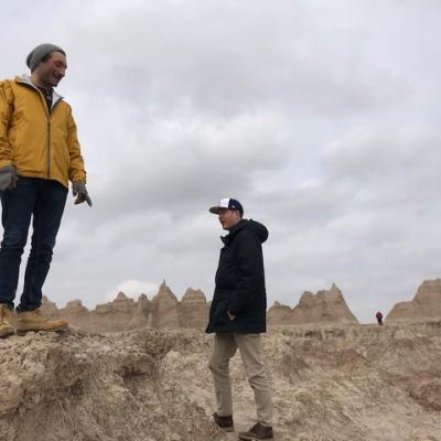 A photo of the Players in Badlands National Park