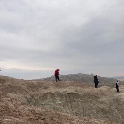 A photo of the Players in Badlands, National Park