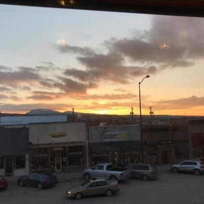 A photo of the sunset Spearfish, SD