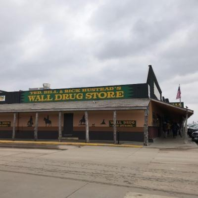 The store they visited in Wall Drug