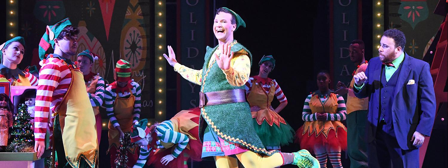 Elf the Musical Production Photo