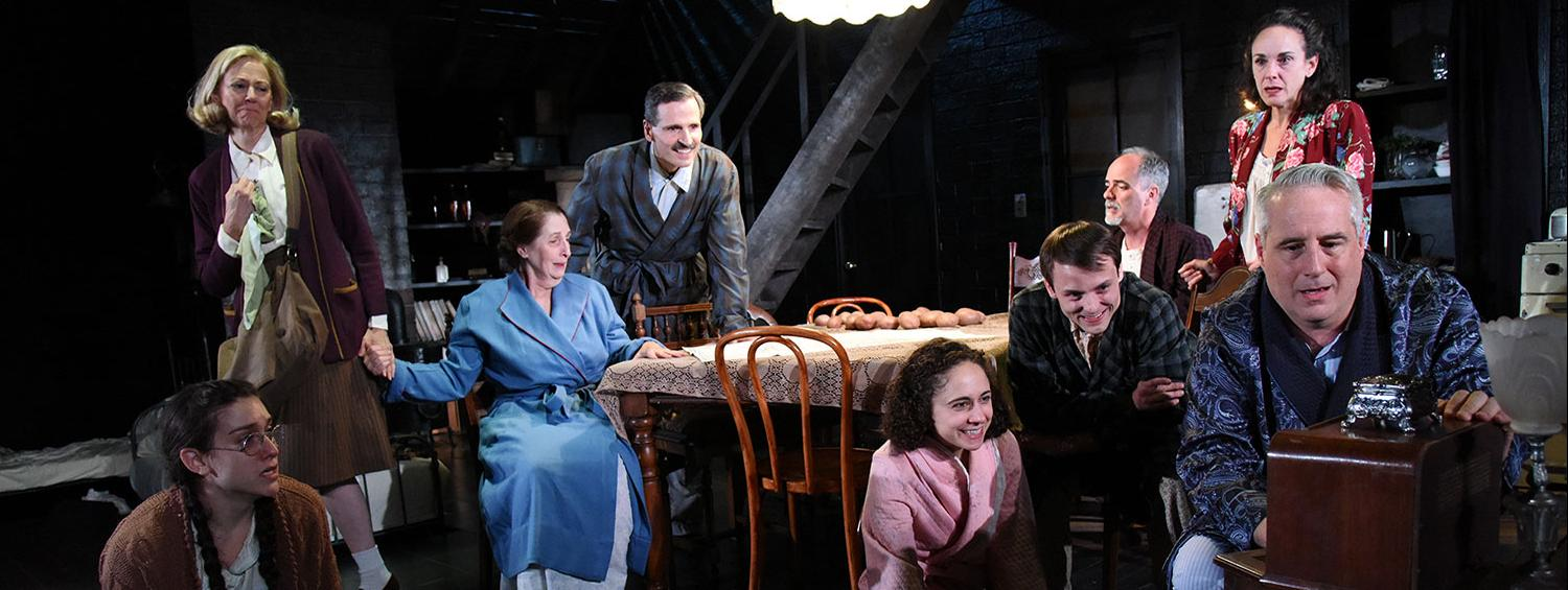 The Diary of Anne Frank Production Photo