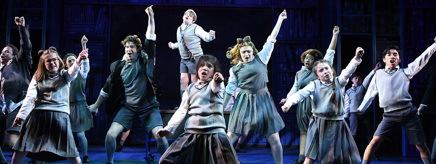 Image result for matilda musical  images