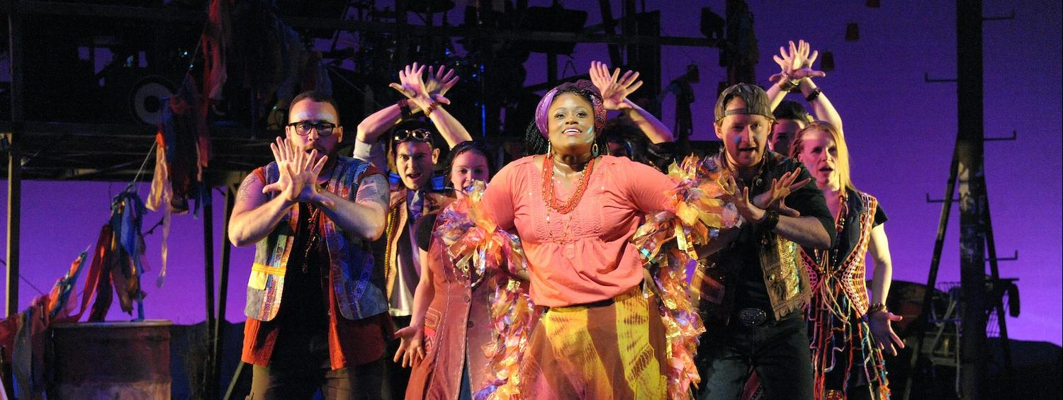 Production Photo from Godspell