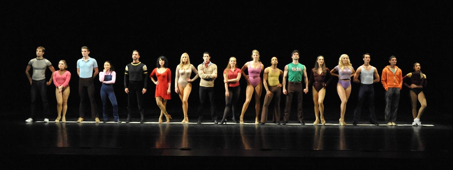 A Chorus Line Production Photo