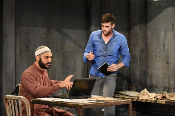 The Invisible Hand Production Photo