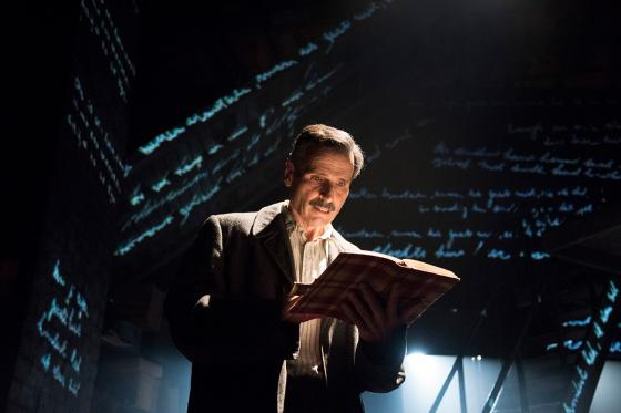 Paul Morella in The Diary of Anne Frank Production Photo