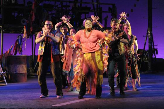 Godspell Production Photo