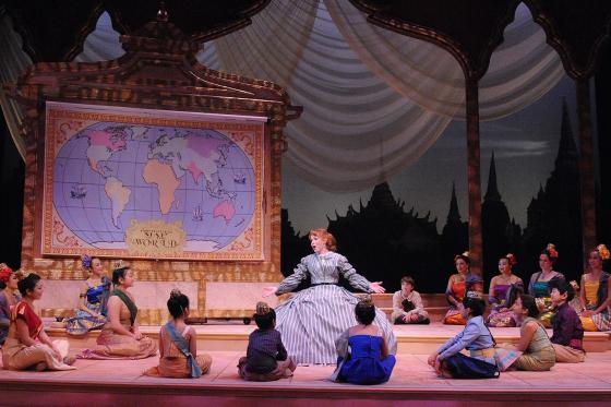King and I Production Photo