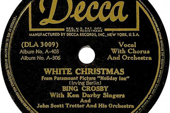A photo of the White Christmas CD